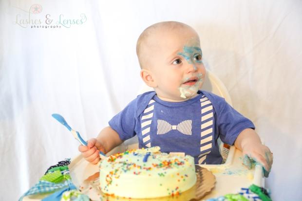 Twins Birthday Smash Cake Session