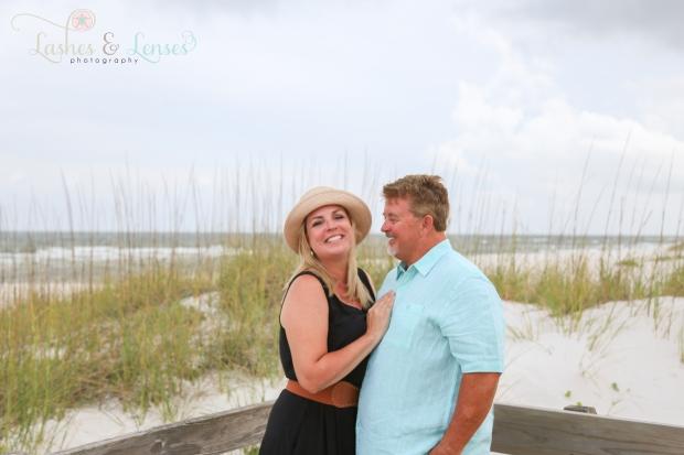 Husband and Wife on boardwalk