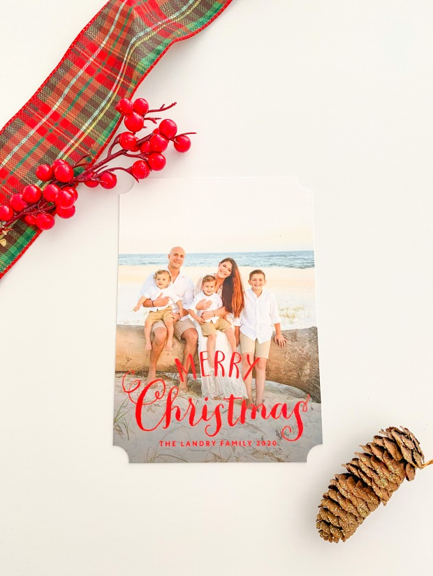 Christmas Card from Basic Invite